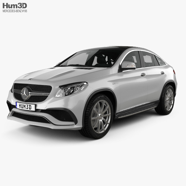 Mercedes-Benz GLE-Class (C292) Coupe AMG 2014 3D model