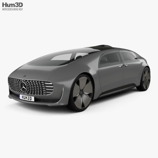 Mercedes-Benz F 015 2015 3D model