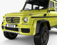 Mercedes-Benz G-Class 4x4-2 2015 3d model