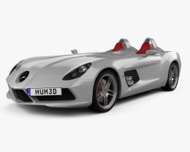 3D model of Mercedes-Benz SLR McLaren Stirling Moss 2009
