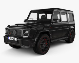 3D model of Mercedes-Benz G-Class G800 Brabus Widestar 2013