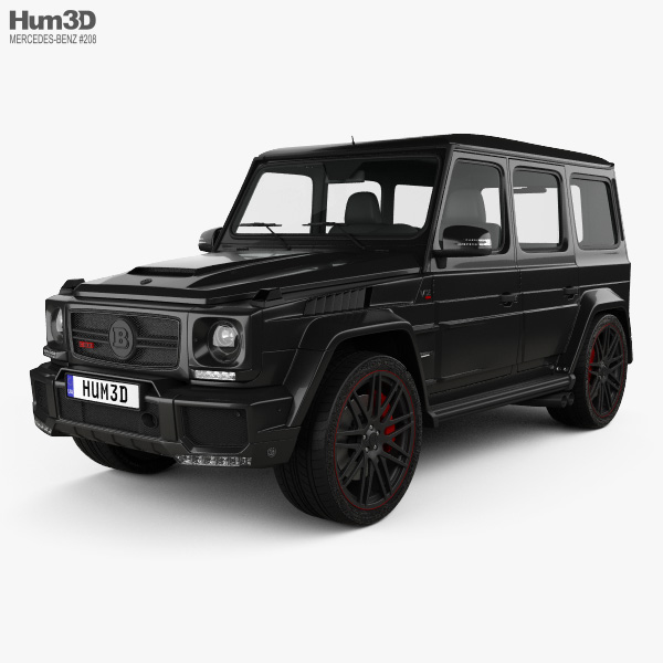 Mercedes-Benz G-Class G800 Brabus Widestar 2013 3D model