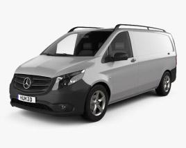 Mercedes-Benz Vito (W447) Panel Van L2 2014 3D model