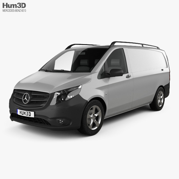 3D model of Mercedes-Benz Vito (W447) Panel Van L2 2014