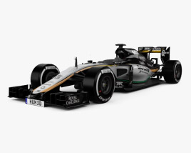 3D model of Force India VJM08 2015