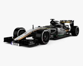 Force India VJM08 2015 3D model