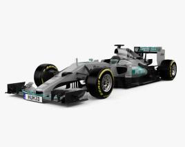 Mercedes-Benz F1 W06 Hybrid 2015 3D model