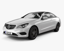Mercedes-Benz E-Class Coupe 2014 3D model
