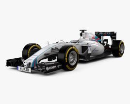 3D model of Williams FW37 2015