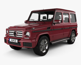 3D model of Mercedes-Benz G-Class 2016