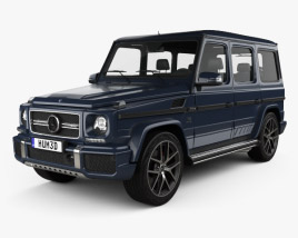 3D model of Mercedes-Benz G-Class AMG 2016
