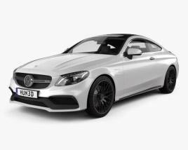 3D model of Mercedes-Benz C-Сlass AMG Coupe 2015