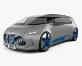 3D model of Mercedes-Benz Vision Tokyo 2015