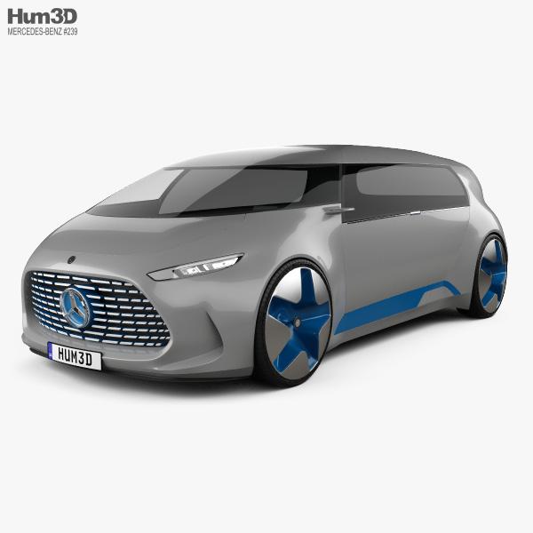 Mercedes-Benz Vision Tokyo 2015 3D model