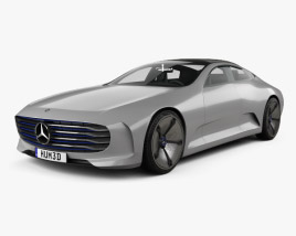 3D model of Mercedes-Benz IAA 2015