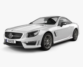 3D model of Mercedes-Benz SL-Class (R321) AMG 2013