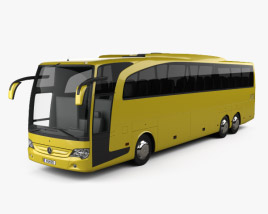 3D model of Mercedes-Benz Travego M Bus 2009