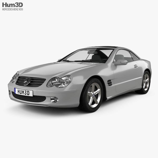 Mercedes-Benz SL-Class (R230) 2001 3D model