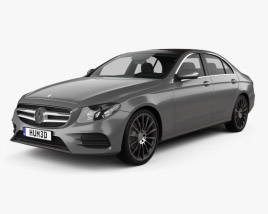 3D model of Mercedes-Benz E-class (W213) AMG Line 2016