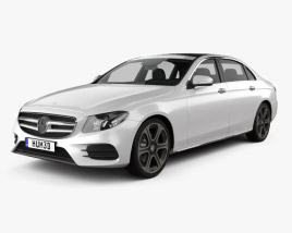 3D model of Mercedes-Benz E-Class (V213) L 2017