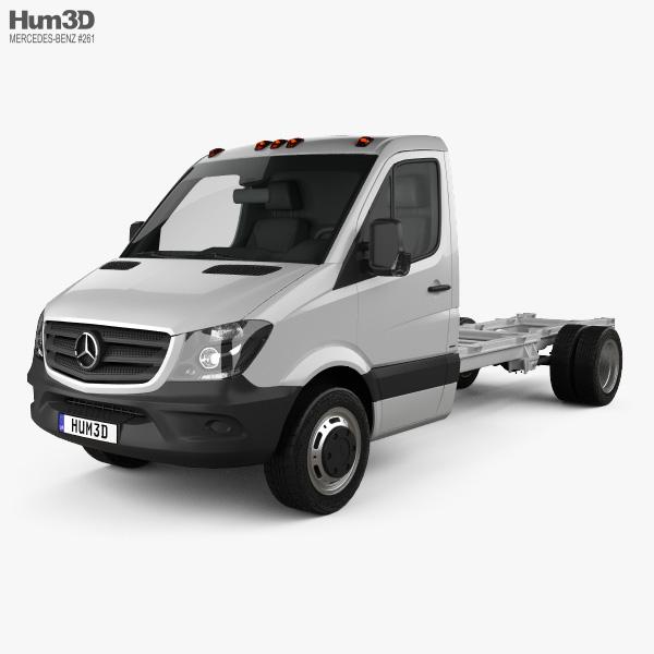Mercedes-Benz Sprinter Single Cab Chassis LWB 2013 3D model