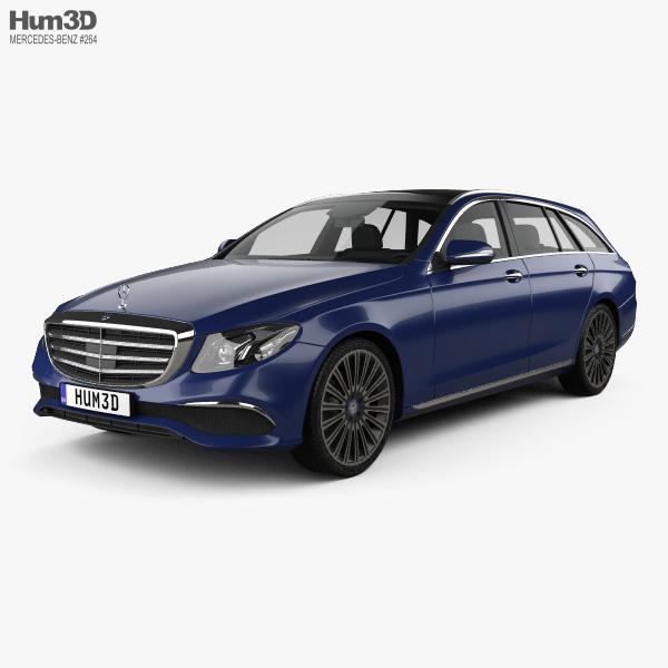 Mercedes-Benz E-Class (S213) Exclusive Line estate 2016 3D model
