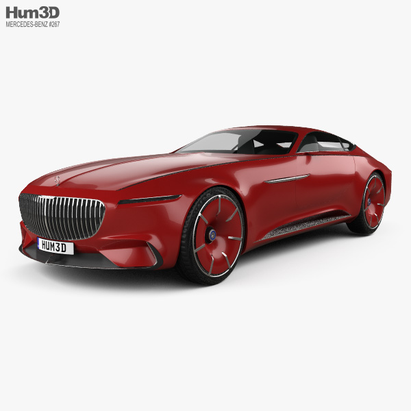 Mercedes-Benz Vision Maybach 6 2016 3D model