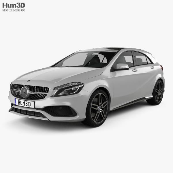 Mercedes-Benz A-Class (W176) AMG Line 2016 3D model