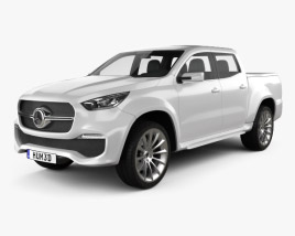 3D model of Mercedes-Benz X-class concept stylish explorer 2017