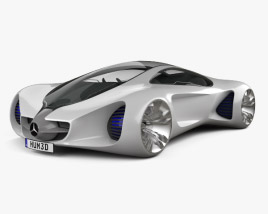3D model of Mercedes-Benz Biome 2010