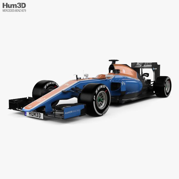 Manor MRT05 2016 3D model