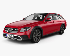 3D model of Mercedes-Benz E-Class (S213) All-Terrain 2016