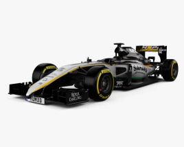 3D model of Force India VJM09 2016