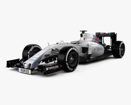 3D model of Williams FW38 2016