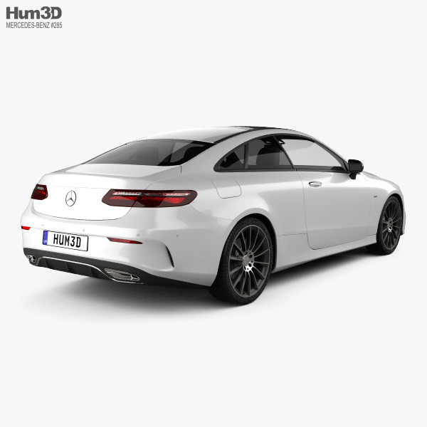 Mercedes-Benz E-Class (C238) Coupe AMG Line 2016 3D model