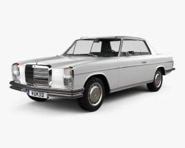 3D model of Mercedes-Benz W114 1968