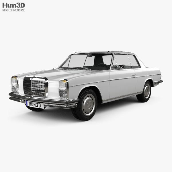 Mercedes-Benz W114 1968 3D model