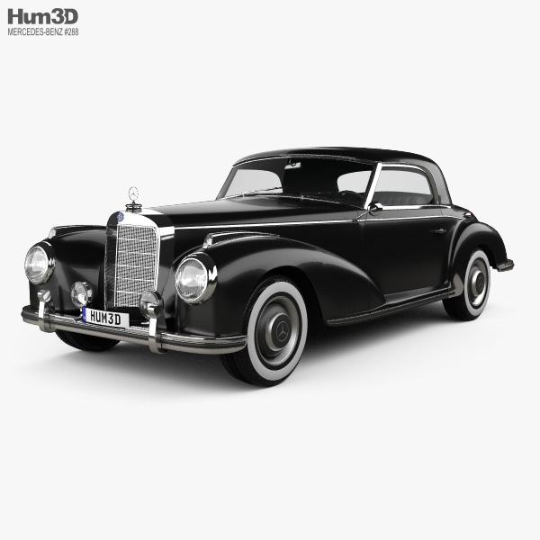 Mercedes-Benz 300 (W188) S Coupe 1951 3D model
