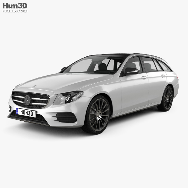 Mercedes-Benz E-Class (S213) AMG Line estate 2016 3D model