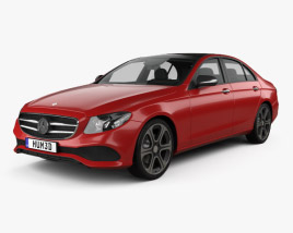 3D model of Mercedes-Benz E-Class (W213) Avantgarde Line 2016