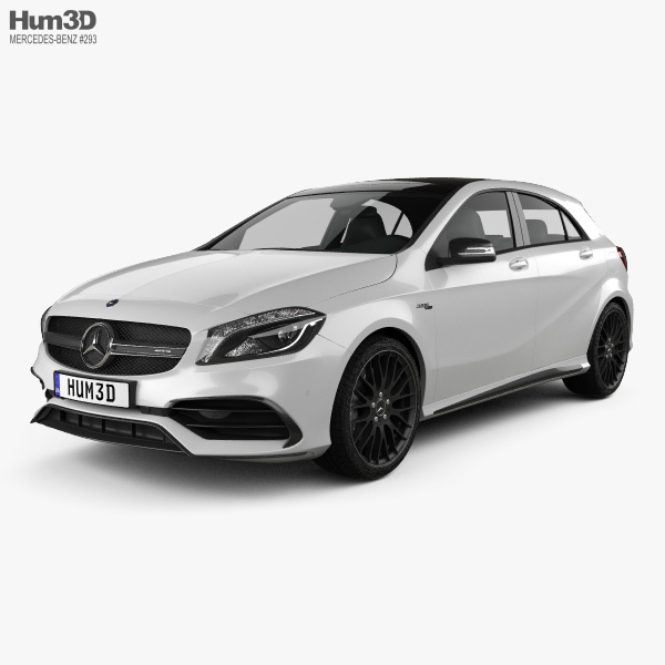 Mercedes-Benz A-Class (W176) AMG 2015 3D model