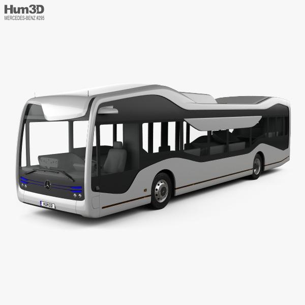 Mercedes-Benz Future Bus 2016 3D model