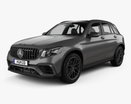 3D model of Mercedes-Benz GLC-Class (X205) S AMG 2017