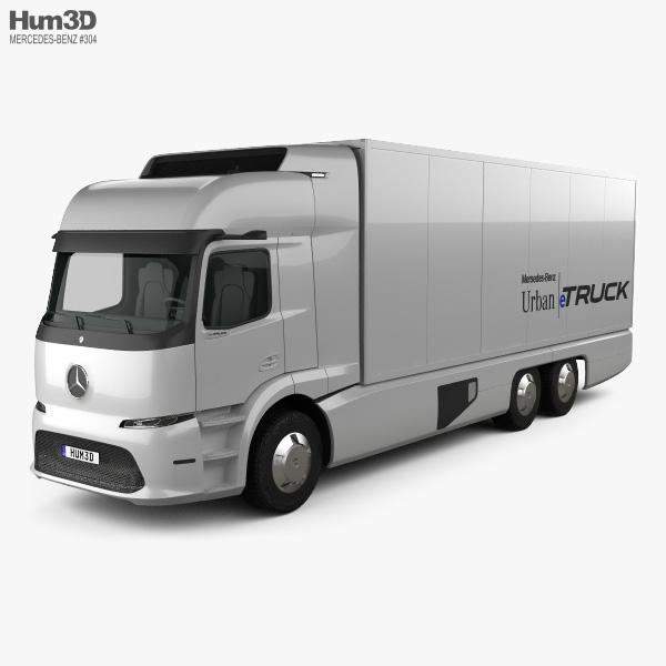 Mercedes-Benz Urban eTruck 2016 3D model