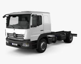 Mercedes-Benz Atego L-Cab Chassis Truck 2013 3D model