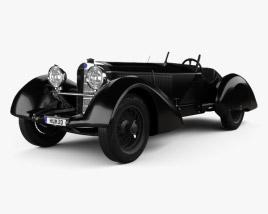 Mercedes-Benz 710 SSK Trossi Roadster 1930 3D model