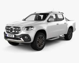 3D model of Mercedes-Benz X-Class Power 2017