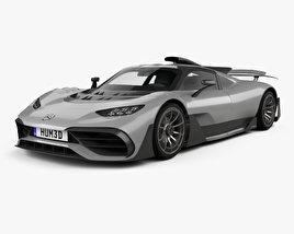 Mercedes-AMG Project ONE 2017 Modèle 3D