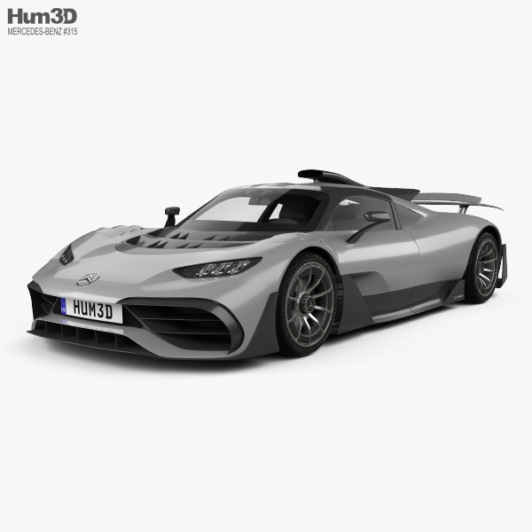 Mercedes-AMG Project ONE 2017 3D model