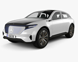 3D model of Mercedes-Benz EQ 2017